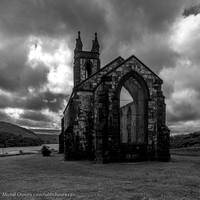 Ruina kostela v Dunlewy (Old Church of Dunlewey)